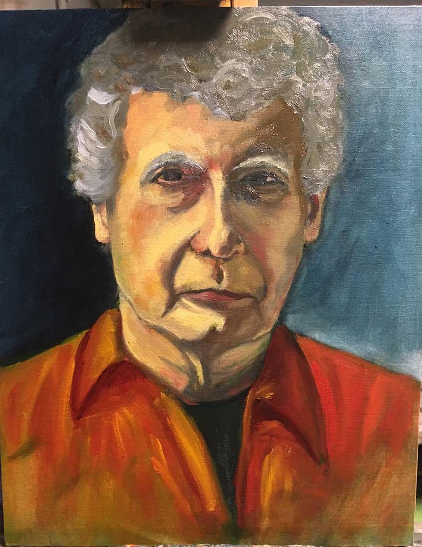 Tim Peinture à l'huile sur Carton entoilé 50,8 cm x 40,6 cm 2018